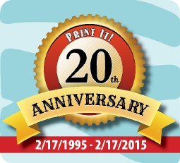 Print It! 20th Anniversary