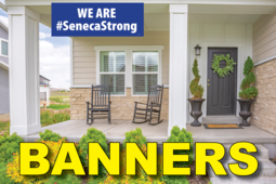 SenecaStrong House or Business Banner
